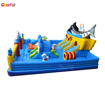 Inflatable bounce-outdoor playground equipment inflatable funcity