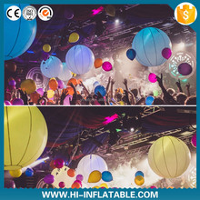 inflatable led balloon Nightclub club decoration inflatable golf ball costume