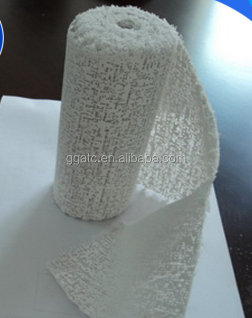 Ningbo Texnet Medical Elastic Bandage Plaster Roll, Plaster Of Paris Bandages Medical Cast Plasters