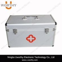 2015 New Products Cheap Large Aluminum Tool Case Tool Box Medicine Carry Case