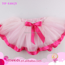 Girls Classic Layers Puffy Tulle Ballet Dance Tutu Skirt Kids Birthday Princess Party Favor Dress Skirt With Petti Satin Bowknot