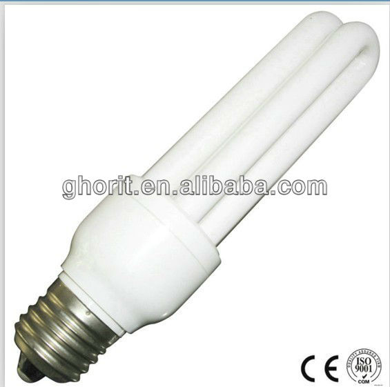 Economy 6400K U Type China Energy Saving Bulbs