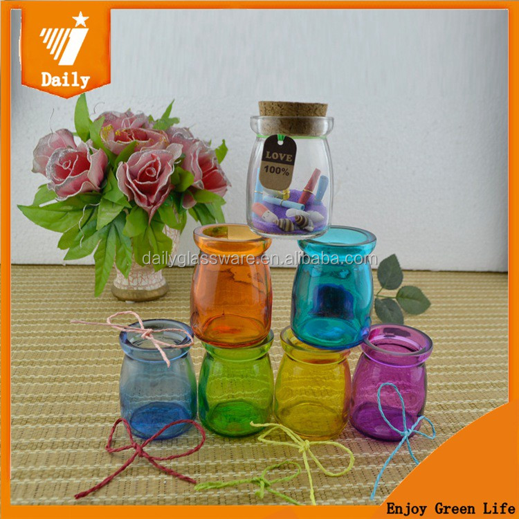 DAILY candle jars with wooden lids corks wholesale