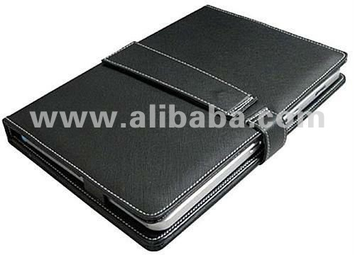 "PU Leather Portfolio Case for 10"" Tablet PC"
