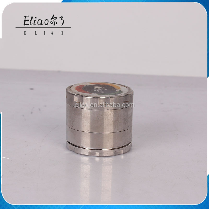 China Supplier Metal Spice Grinder 4 Parts 2.'' Zinc Alloy Herb Grinder