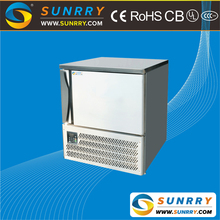 Commercial restaurant upright blast chiller freezer