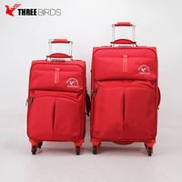 Factory direct wholesale wheel parts suitcases with durable light weight