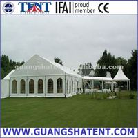 big outdoor aluminium pvc tents for hire
