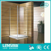 New products looking for distributor, prefab shower enclosures,8mm tempered and filmed glass 100% safety hinge door Gary b31