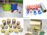 Aluminium Foil For Sealing Lids Of