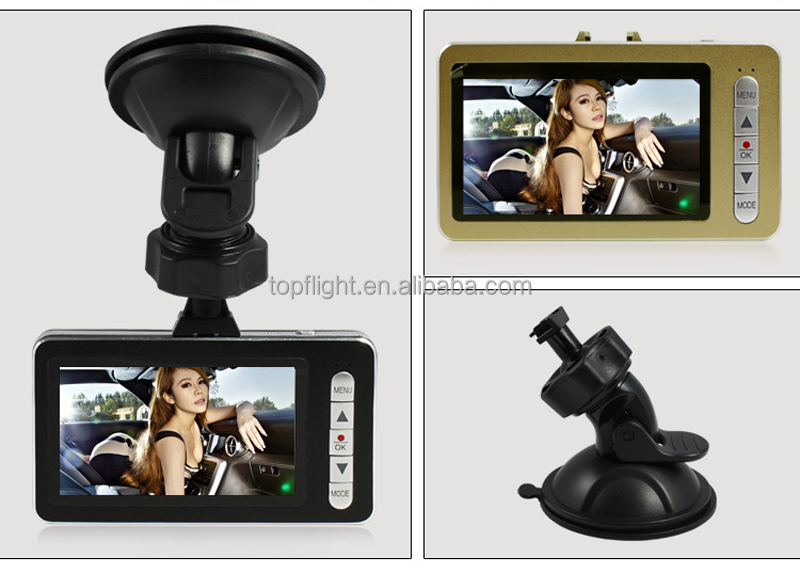 2.7'' LCD Full HD 1080P NTK96620 Car Black Box Car DVR Car Dash Camera