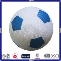 hot sale promotional rubber football size 5