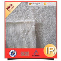 white plain sherpa fleece/shu velveteen fabric