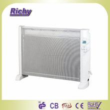 Portable Infrared Mica Panel Heater with 4 Heating Mode and 24H Timer
