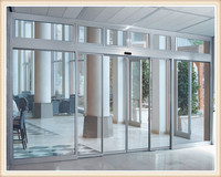 Mador high quality commercial glass automatic door sliding