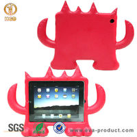 2015 cheapest price monster shape cartoon hard case for new iPad 3