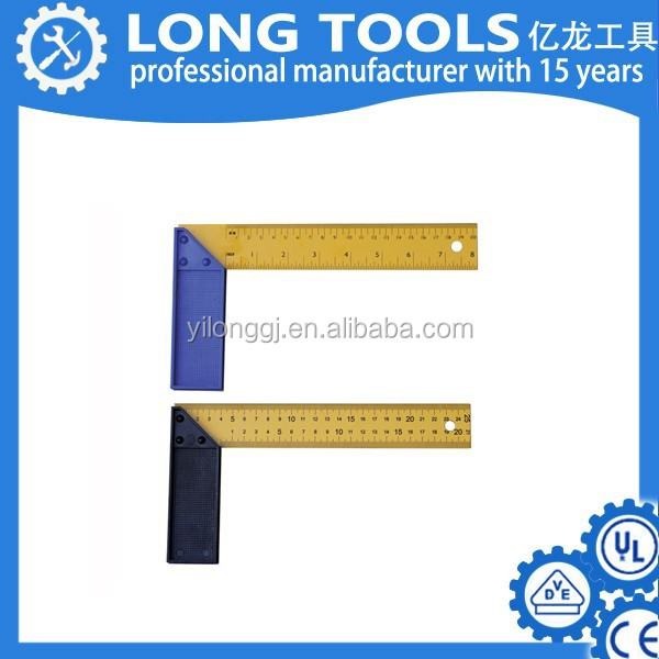 Printable plastic custom tailor right angle ruler