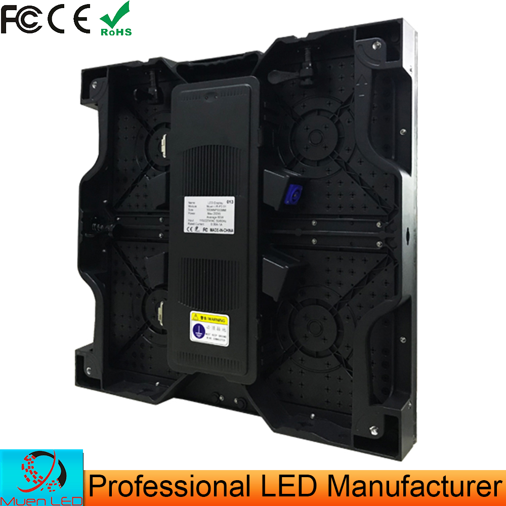 500mm*500mm Rental Led Screen Cabinet