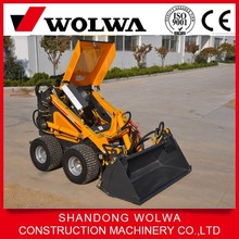 0.15 capacity bucket mini skid steer loader with tires