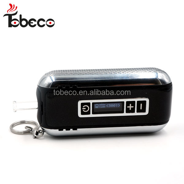 top sale high quality tobeco Car key dry herb vaporizer dry dry herb vape