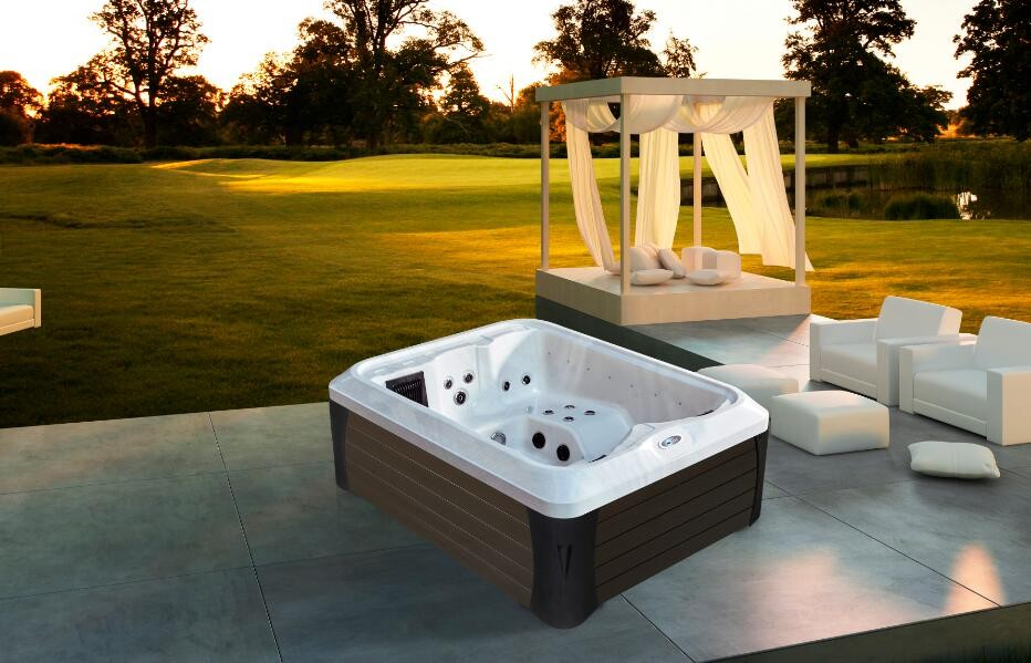 Outdoor massage hot tub newly style lx water pump spa m for Hot tub styles