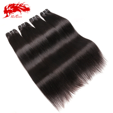 Cheap real human hair extension on sale raw indian temple hair