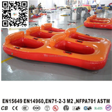 Towable Water Tube 5 Person Inflatable island Outdoors Flying Water Ski Tube