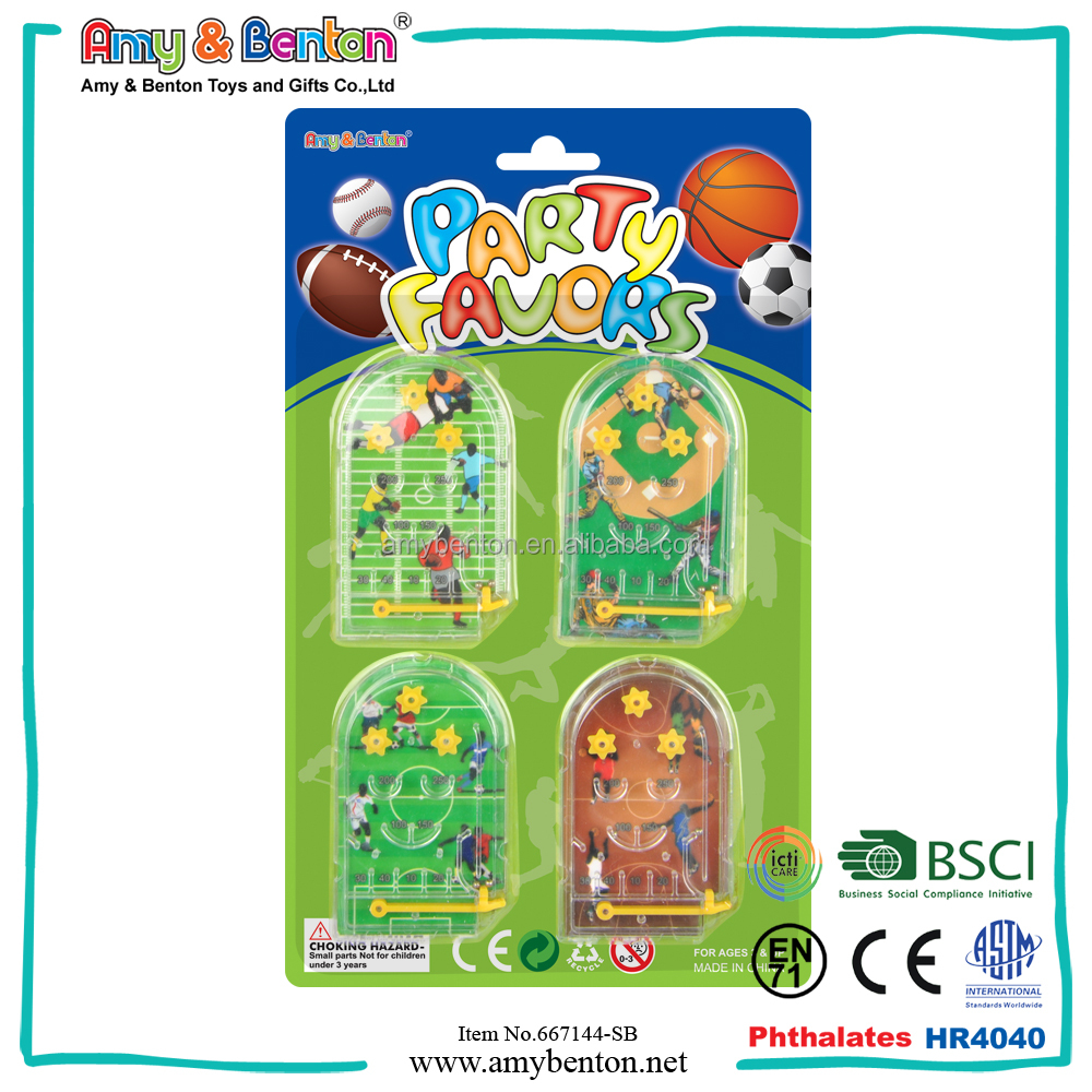mini plastic children play ball maze game cube
