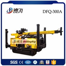 Portable DFQ-300 underground water bore well drilling machine for sale