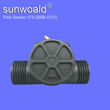 "1/2"" Hall good quality Water Plastic flow sensor"
