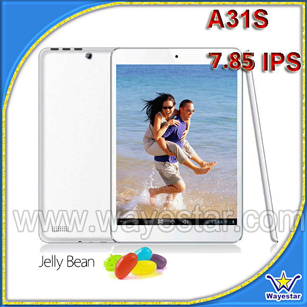Wayestar tablet A83 quadcore hdm smart tablet pc 7.85""