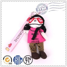 promotional wholesale plush toy phone chain