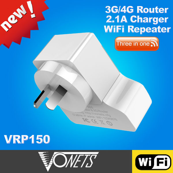 2014 VONETS 300Mbps 3g pocket sized wireless n router made in China