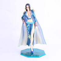 POP Deluxe Excellent Model Series Japan Anime One Piece Boa Hancock Sexy Girl PVC Action Figure Christmas Gift Boxed 23cm