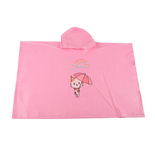 Hot Sale Design Printing Kids Raincoat Poncho Children Raincoats Cloak