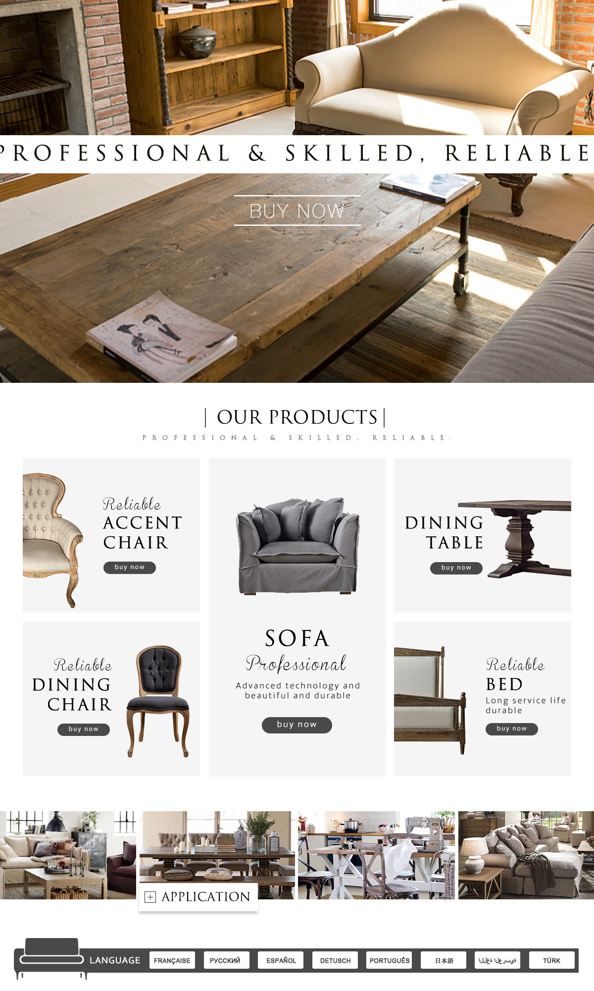 Hangzhou Prime Home Co., Ltd.   Furniture, Dining Chair And Table