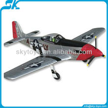 1.4m 2.4G EPO P51 Mustang TW 758-1 electric rc warbird model plane