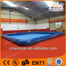 Big 0.9mm PVC inflatable 1 ring swim pool