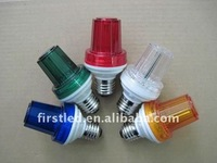 led flash light, pc cover transparent cover, led strobe light IP44 high quality nice exterior