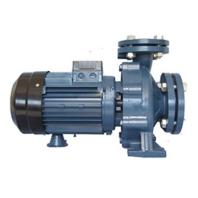 Electric water pump for farm irrigation pump