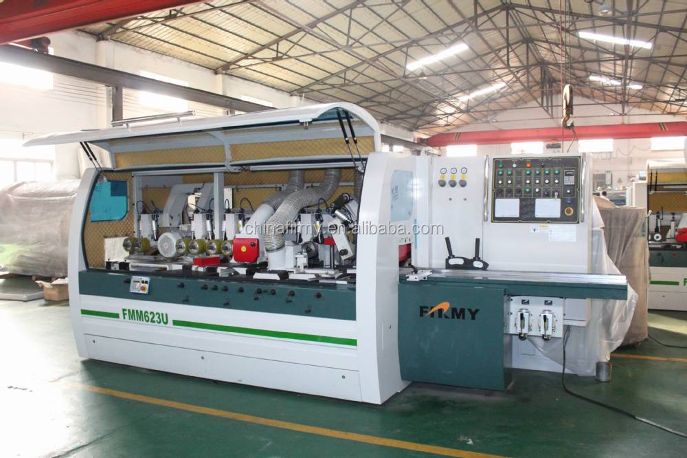 four side moulder wood working machine