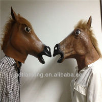 Hot selling popular horse mask for Halloween, party or Masquerade or cosplay