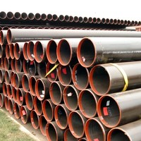 astm a53 st 35 api 5l gr b x46 x52 LSAW welded black pipe sizes hot sale
