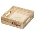 new design wooden tray for food display and storage
