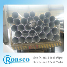 cold drawan astm a 269 sus304 stainless steel hot rolled NO.1 large OD industry round welded pipe for industry using