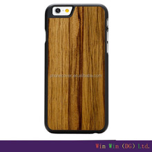Top Quality 100% natural real wood bamboo durable wireless microphone case for iphone 5,, for iphone 6splus