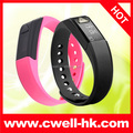 Hot sale Auto snyc smart bluetooth bracelet vibrating waterproof sport bracelet