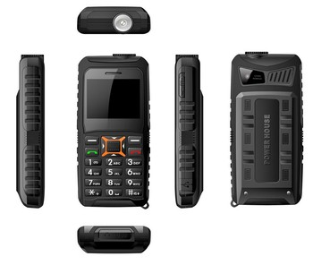 Rugged Waterproof 2.3 inch very small mobile phone