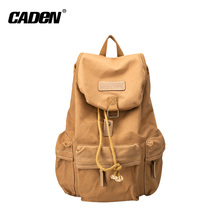 new design waterproof canvas camera backpack bag