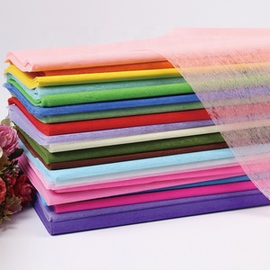 New Trendy Wholesale Colorful Arts Crafts Gift Box Package Flower Wrapping Tissue Paper